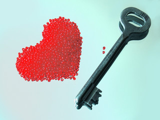 the key from heart