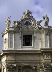 vatican clock tower