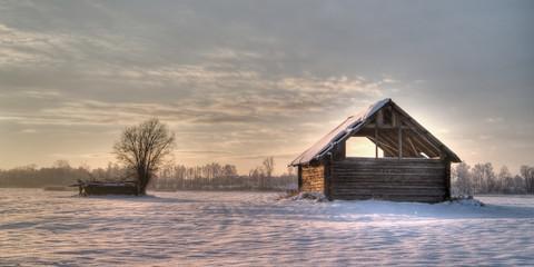 ruined haylofts