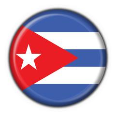 bottone bandiera cubana - cuba button flag