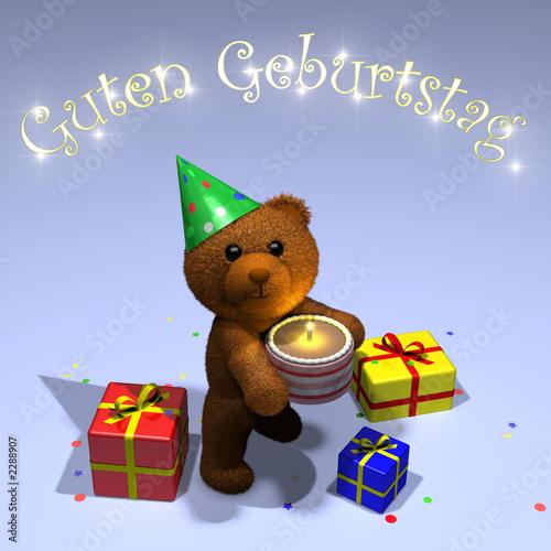 anniversaire en allemand