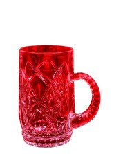 blood red mug