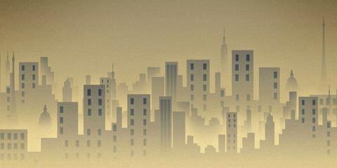 city life, illustration, background