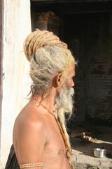 holy hindu sadhu