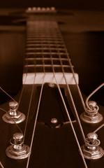 guitar closeup