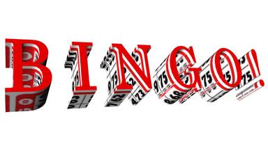 bingo red front