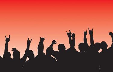 rockin' crowd