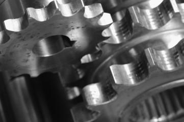 close-up gear details