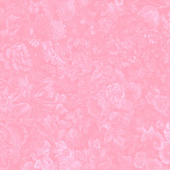 background pink floral allover