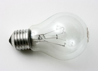 burned out electric bulb