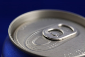 closed soft drink can