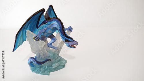"Dragon Bleu Animal dragon bleu glace"" stock photo and royalty-free images on fotolia"