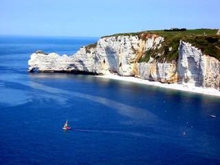 cliffs of etretat, france