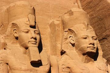 Printed roller blinds Egypt abu simbel heads, egypt, africa