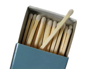 box of white matches
