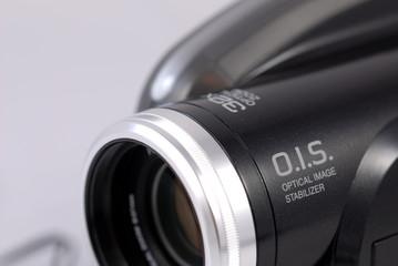 lens on camcorder