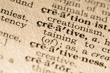 the word creative