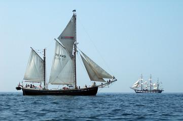 deux voiliers