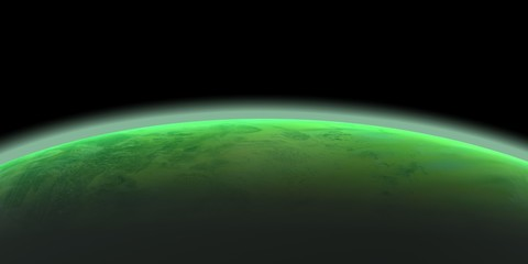 horizon planète verte