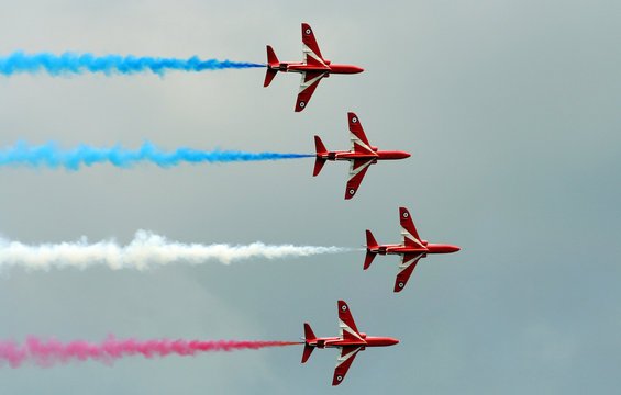 red arrows.