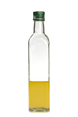 glass bottle, liquid
