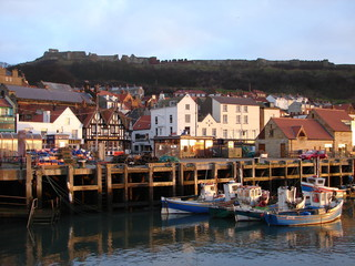 fishing boats and harbour