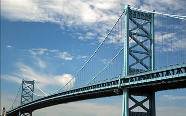 Canvas Prints Bridge blue bridge