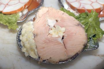 coquille de saumon