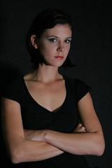girl in black12