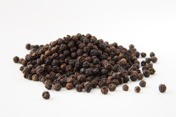 whole black pepper macro