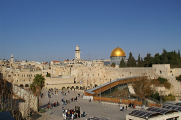 jerusalem old city - dome of the rock