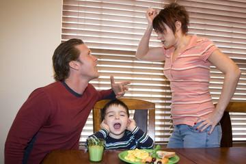 arguing parents