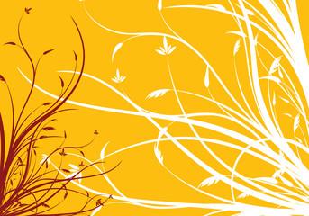 Leinwandbild Motiv - WaD : abstract spring floral decorative background vector illustration