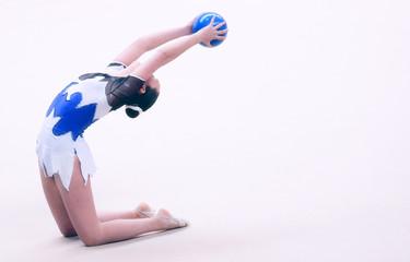 Fototapeten Gymnastik women artistic gymnastics