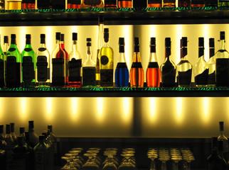 liqour bottles