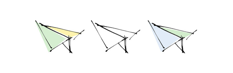 drawing of planes
