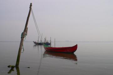 pescando barcos