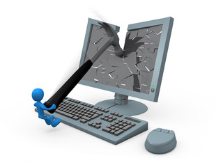 smashing monitor
