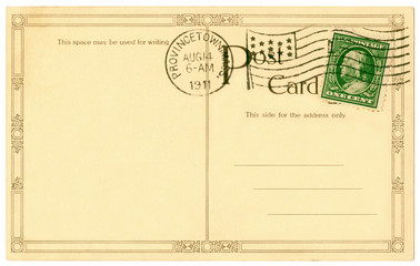 postcard - 1911