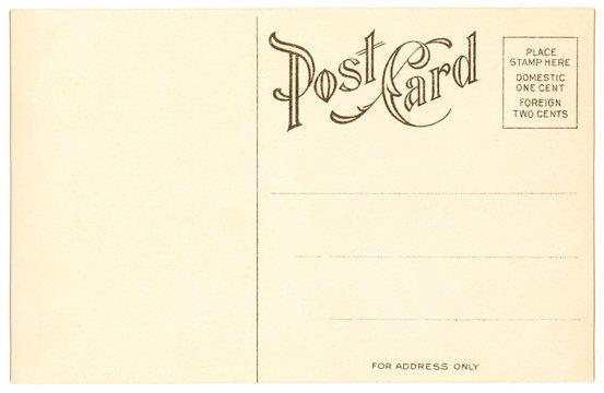 postcard - 1904