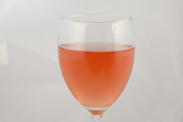 glass of rose