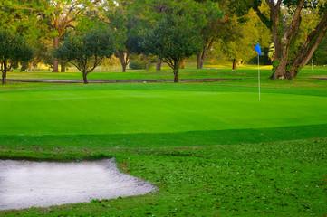 Poster Golf golf green