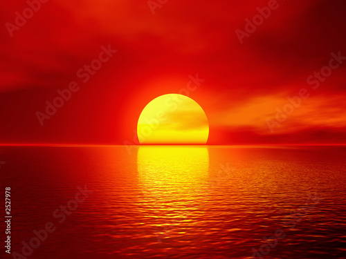 sunrise pictures over water