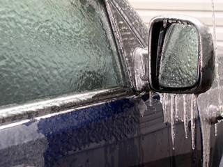 frozen side mirror
