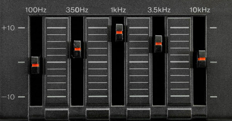 black five band equalizer