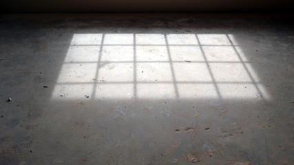 sunlit floor
