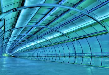Stores à enrouleur Tunnel futuristic tunnel