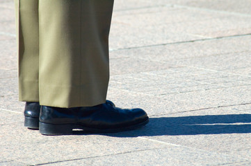 soldier shoes