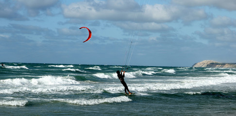 beach activities:kite