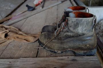 souliers militaires